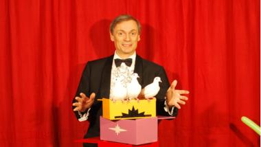 Melkior, un magicien à Saint-Étienne pour un spectacle de magie